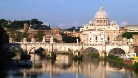 Řím, Vatikán - letecky
